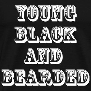 Bearded White - Men's Premium T-Shirt