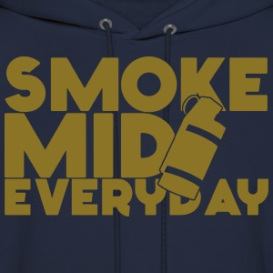 Smoke Mid Everyday CSGO LimitedEdition Gold Hoodie - Men's Hoodie