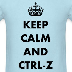 Keep calm and ctrl-z - Men's T-Shirt