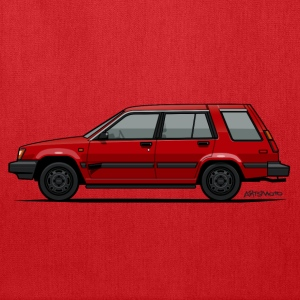 Jesse Pinkman's Crappy Red Toyota Tercel SR5 4WD  Bags & backpacks - Tote Bag