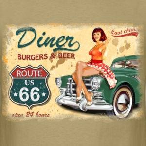 Route 66 Diner - Men's T-Shirt