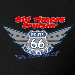 Old Timers Cruzin Motorcycle - Men's T-Shirt