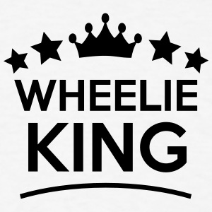 wheelie king stars t-shirt - Men's T-Shirt