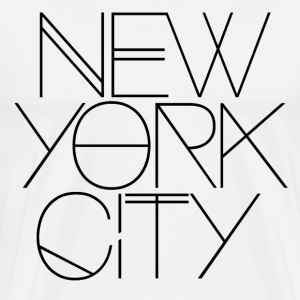 NYC, new york, new york city, manhattan - Men's Premium T-Shirt