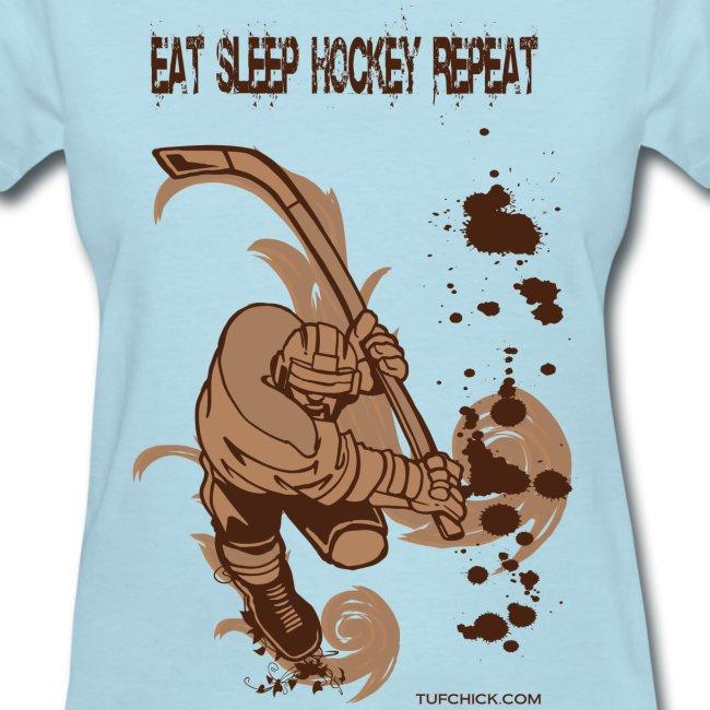 Eat Sleep Hockey Repeat - TC