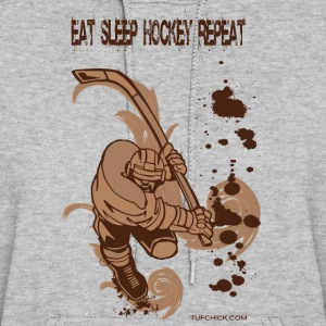 Eat Sleep Hockey Repeat - TC - Women's Hoodie