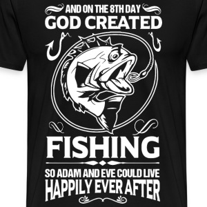 fishing, funny fishing, fishing humor, fisherman - Men's Premium T-Shirt