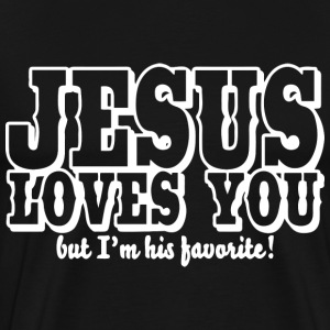 jesus, superman, christia T-Shirts - Men's Premium T-Shirt