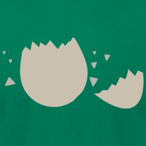 Eggshell T-Shirts - Men's T-Shirt by American Apparel