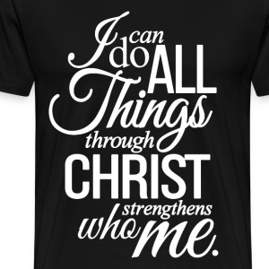 christian philippians 413 cool christian tshirts mens premium t shirt