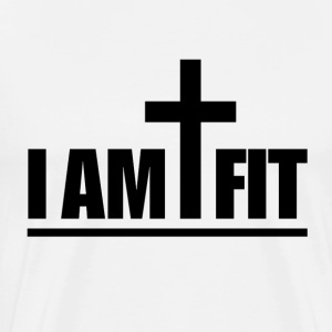 Christian, I Am Cross Fit Jesus crossfit - Men's Premium T-Shirt