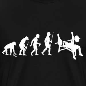 Funny Bodybuilding weightlifting lift weight - Men's Premium T-Shirt