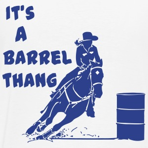 Seriously its a barrel thang  - Men's Premium T-Shirt