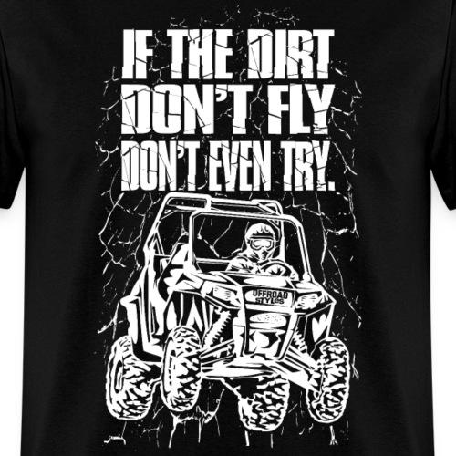 UTV Racer Dirt Fly Wht
