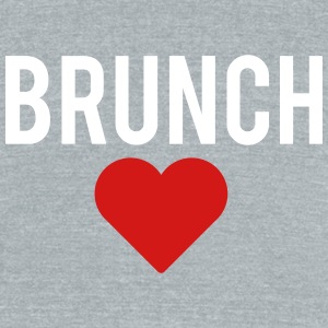 brunch love - Unisex Tri-Blend T-Shirt by American Apparel