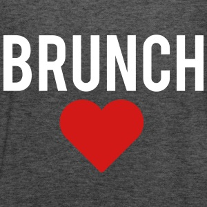 brunch love - Women's Flowy Tank Top by Bella