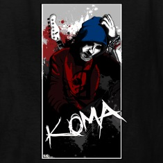 Koma rock band kids tshirt