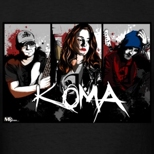 Koma - rock band  - Men's T-Shirt