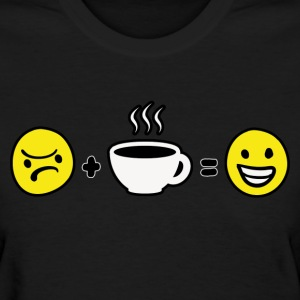 Coffee Makes Me Happy Women's T-Shirts - Women's T-Shirt