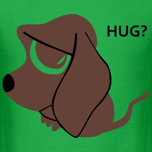 Hug for a cute dog? T-Shirts - Men's T-Shirt