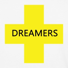 dream yellow blk T-Shirts