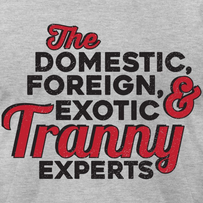 Tranny Expert American Apparel Tee
