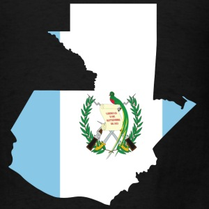 Guatemala Flag Map.png T-Shirts - Men's T-Shirt