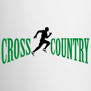 Cross country Mugs & Drinkware - Coffee/Tea Mug