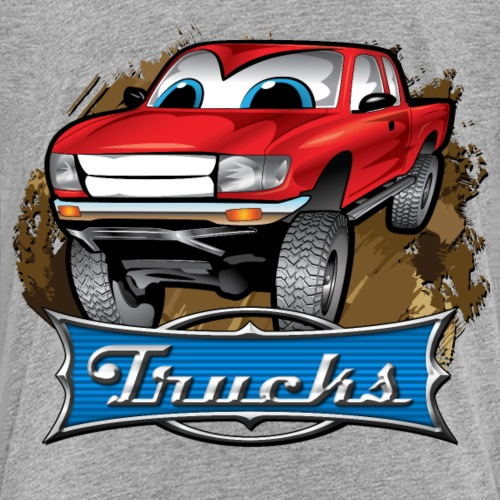 Cartoon Pickup Truck