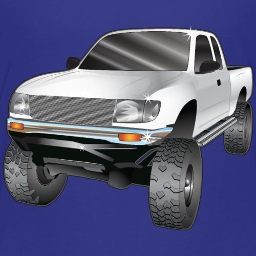 White Toyota Tacoma Pickup Truck