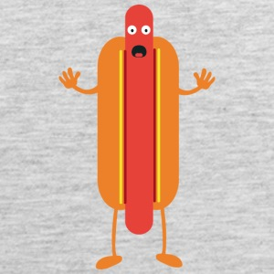 Hot Dog man Tank Tops - Men's Premium Tank
