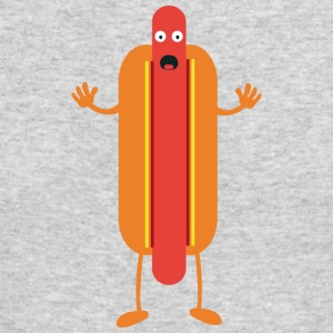 Hot Dog man Long Sleeve Shirts - Men's Long Sleeve T-Shirt by Next Level