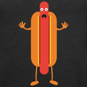 Hot Dog man Tanks - Women's Premium Tank Top