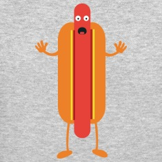 Hot Dog man Long Sleeve Shirts