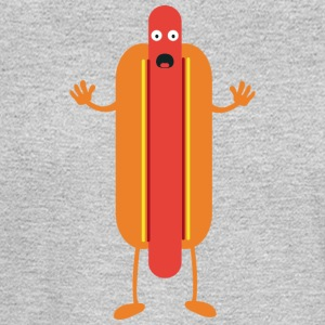 Hot Dog man Long Sleeve Shirts - Men's Long Sleeve T-Shirt