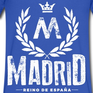 Madrid T-Shirts - Men's V-Neck T-Shirt by Canvas