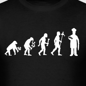 Evolution of Baker - Men's T-Shirt