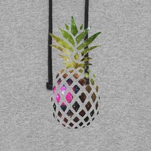 Galaxy Pineapple - Colorblock Hoodie