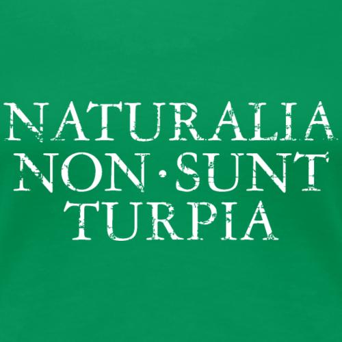 NATURALIA NON SUNT TURPIA Vintage White
