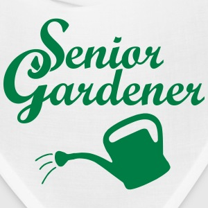 Senior Gardener with Watering Can Caps - Bandana