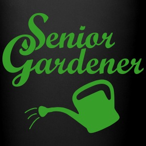 Senior Gardener with Watering Can Mugs & Drinkware - Full Color Mug