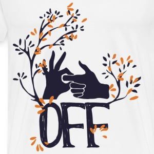 FUCK OFF - Men's Premium T-Shirt