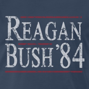 Reagan Bush 84 T-Shirts - Men's Premium T-Shirt