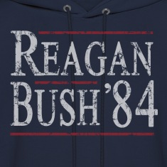 Reagan Bush 84 Hoodies