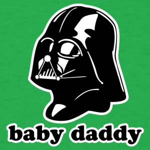 Darth Vader Baby Daddy - Men's T-Shirt