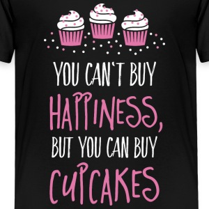 Cant buy happiness, but cupcakes Baby & Toddler Shirts - Toddler Premium T-Shirt