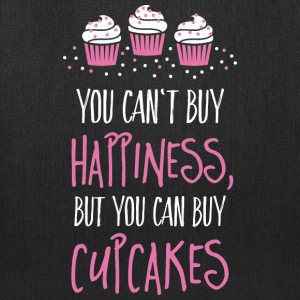 Cant buy happiness, but cupcakes Bags & backpacks - Tote Bag