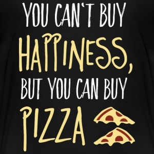 Cant buy happiness, but pizza Baby & Toddler Shirts - Toddler Premium T-Shirt