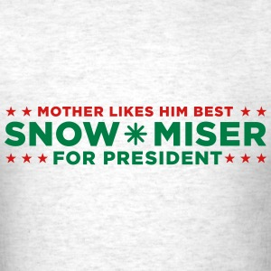 Snow Miser for President - Men's T-Shirt