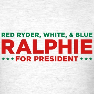 Ralphie for President - Christmas Story - Men's T-Shirt